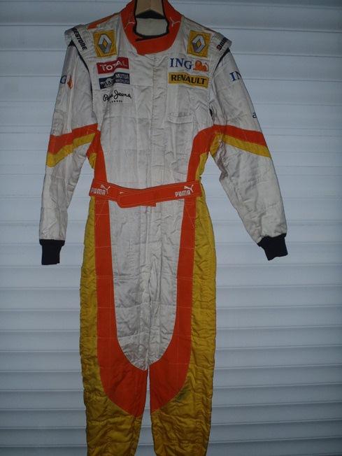 Ing Renault 2009 Pit Crew Suit Paddock Motorsport