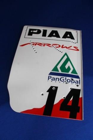 Arrows A20 Rear Wing Endplate Paddock Motorsport