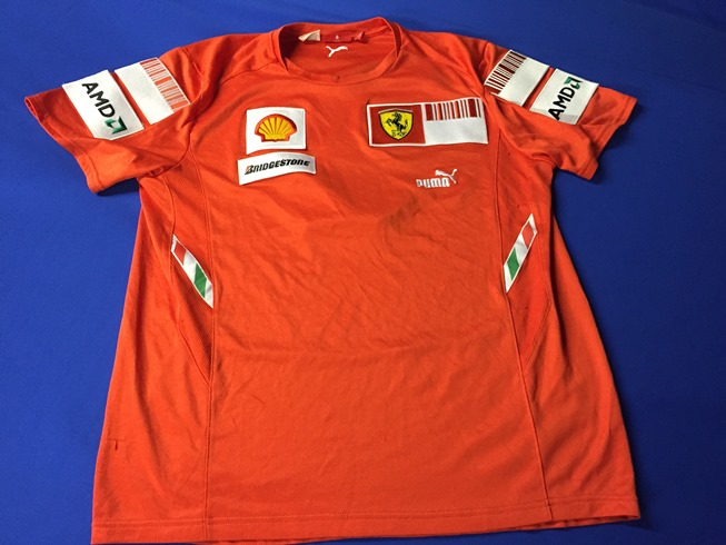2008 Scuderia Ferrari F1 Race Tee Shirt