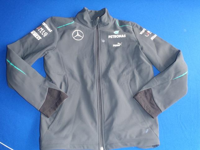 Race Car Jackets >> 2013 Mercedes AMG Petronas F1 Race Softshell Jacket | Paddock Motorsport