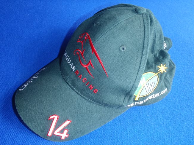 2004 Jaguar Racing Mark Webber Driver Cap Paddock Motorsport